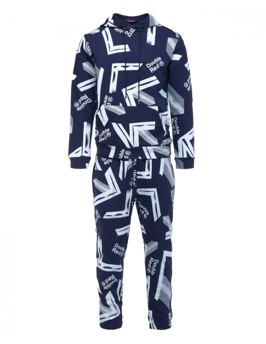 GEOMETRIX Dark Blue Tracksuit